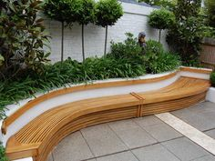Exterior Curved Bench from Paul Deakin Furniture. Big collection of Wooden Bench from United Kingdom. Also deals in Manufacturer of Exterior Curved Bench Curved Outdoor Benches, Curved Bench, Outdoor Garden Bench, Wooden Garden Benches, Garden Seating, Outdoor Seating, Patio Bench, Diy Pergola, Retractable Pergola