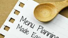 Menu Planning Made Easy {It's Free!}