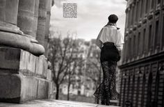 Karolina Kurkova Wanders Paris By Francesco Carrozzini for Vogue Italia April2013 - 3 Sensual Fashion Editorials | Art Exhibits - Anne of Carversville Women's News