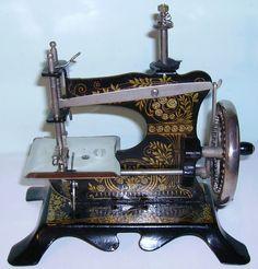 Muller German toy sewing machine