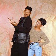 Will Smith and Nia Long