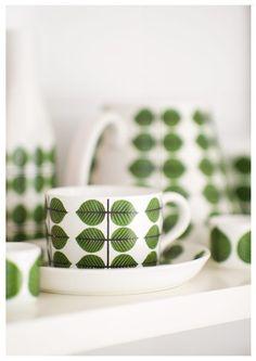 Stig Lindberg Bersa Collection Photography Scandinavian design Kitchen Decor Kitchenware tea cup A4