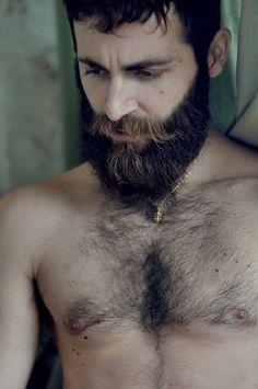 Beards. Men. Well groomed.