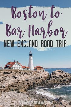From Boston to Bar Harbor: a New England road trip [+Map] : This New England road trip itinerary will take you on the scenic route from Boston to Portland, Mid Coast Maine and Acadia National Park. Maine Road Trip, Road Trip Map, East Coast Road Trip, Road Trip Hacks, Voyage Usa, Voyage Canada, Auckland, New England Travel, New England Usa