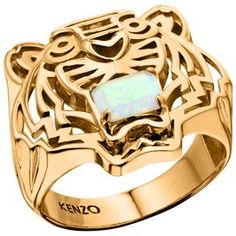 Kenzo 26383010805 Gold Plated Opal Ring, Gold Metallic Buy for: GBP142.50 House of Fraser Currently Offers: Kenzo 26383010805 Gold Plated Opal Ring, Gold Metallic from Store Category: Accessories > Jewellery > Rings for just: GBP142.50 Check more at http://nationaldeal.co.uk/kenzo-26383010805-gold-plated-opal-ring-gold-metallic-buy-for-gbp142-50/