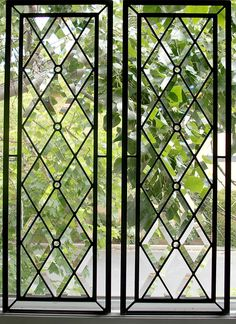 If you're struggling with windows in your home that look bad, perform poorly (maybe they don't open well or aren't very energy efficient) and don't offer the level of privacy you desire then a decorative glass window may be the… Continue Reading → Window Grill Design Modern, Grill Door Design, Window Glass Design, Stained Glass Designs, Stained Glass Art, Leaded Glass Windows, Leadlight Windows, Railing Design, Window Styles