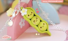 Kawaii polymer clay fimo charm de ChicKawaii en Etsy