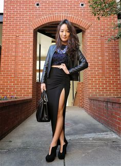 Sensible Stylista: Remix: The Black Maxi Skirt