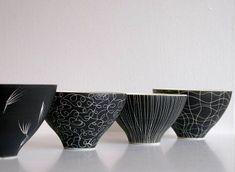 Anna Sykora black and white bowls