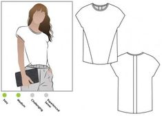 - Click for Other Sizes Available Maddison Top Style Arc Sewing Pattern Sizes 18-30