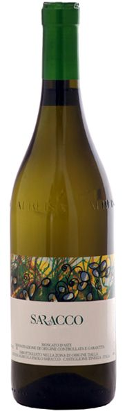 A lovely dessert wine from Italy by Paolo Saracco / Grape: Moscato Bianco Canelli