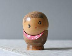 vintage wooden egg doll - ModishVintage (sold)