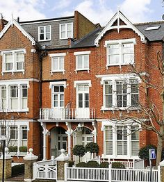 London Home Close to Leafy Wandsworth Common Asking Million A Frame Floor Plans, A Frame Cabin, Cool Photos, Multi Story Building, House Ideas, Flooring, London, Mansions, House Styles