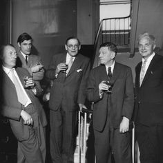 The Faber Poets…Louis MacNeice; Ted Hughes; T.S. Eliot; W.H. Auden; Sir Stephen Harold Spender) by Mark Gerson 23 June 1960