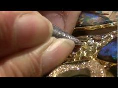 """Opals, Gold, Pearls and Water (The Making of  the """"My Wild Child"""" Necklace)"""