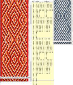 40 tarjetas, 4 colores, repite cada 34 movimientos // sed_1082 diseñado en GTT༺❁