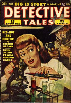 Detective Tales - November 1948 #pulp #art #cover #vintage