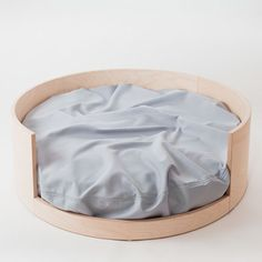 STAY L dogbed, natural by neroko - I absolutely LOVE these dog beds designed by a Finnish company neroko. They are so simple yet stunning!
