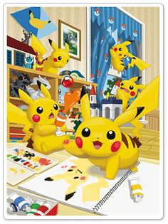 Pikachu Oops!Spin Off 2014