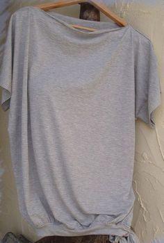 T-Shirt bzw. Top aus Jersey - kostenloses Schnittmuster für Damen - Freebook