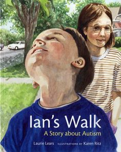 Ian's Walk: A Story about Autism by Laurie Lears, http://www.amazon.com/dp/0807534811/ref=cm_sw_r_pi_dp_Kt4irb0BNSGC2