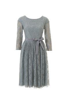 Платье с присборенной юбкой