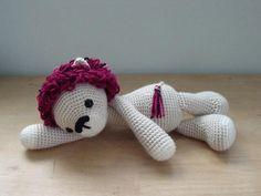 Lucas Lion amigurumi crochet pattern by AuroraGurumi