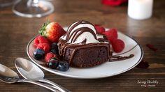 Molten Lava Brownies (Paleo, Gluten-free, Grain-free, Dairy-free)