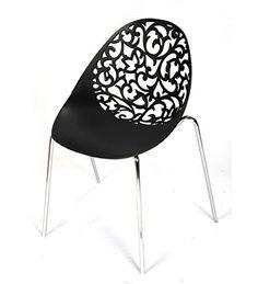 Ventura 152_Black Plastic Chair (Black)