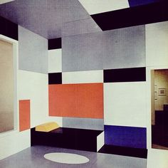More Mondrian biz.. #mondrian #colourfulinteriors