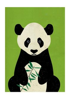 Great Panda by Dieter Braun - East End Prints