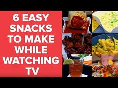 Easy Snacks to Make While Watching TV | Quick Recipe Tutorials