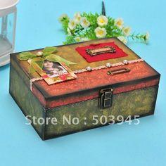 Venta al por mayor cajas de madera artesanales-Compre cajas de ... Craft Box, Wooden Crafts, Decorative Boxes, Country, Home Decor, Painted Boxes, Wooden Crates, Jewel Box, Yurts