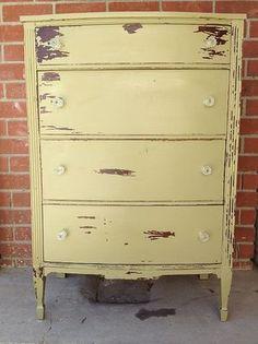 chippy paint dresser