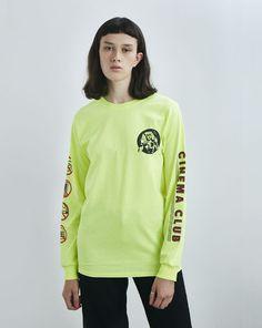 Aymmy in the Batty Girls Cinema Club Long Sleeve T-shirt