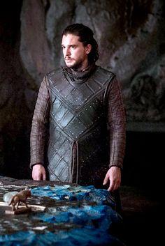 Jon Snow at Dragonstone