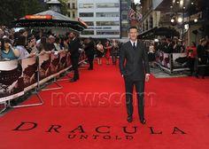 Premiere Dracula Untold, 2014, Luke Evans, Newscom Image : pacificphotostwo270395