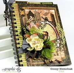 Botanicabella Journal By Ginny Nemchak Product by @graphic45
