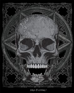 Skull Head T-shirt Design by *Oblivion-design on deviantART