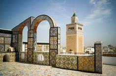 Tunis, Tunisia.  http://www.worldheritagesite.org/sites/tunis.html