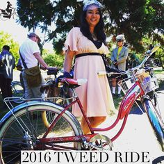 "TWEED RIDE VICTORIA is happening September 10 2016  It's a stylish ride for the smart set  Le Vélo will be sponsoring the ""Most Stylish Bicycle Accessory"" contest. It's a curious contest for it relies on not only a knowledge of your particular bicycle but also a thorough grasp of what it means to be a Tweed Rider. A vintage bicycle. Spoke cards? Beautiful basket? A garland of summer foliage? A pannier made of tweed? Any or all of these fit the bill. But it is up to the individual taste of…"