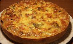 Лоранський пиріг з куркою і грибами