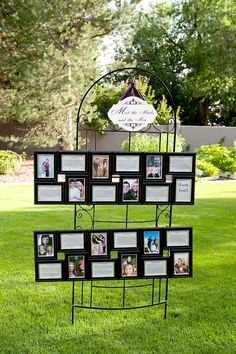 Meet the Maids and Men. Display pictures and descriptions for them and guests to see!