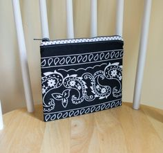 Zipper Pouch All Purpose Pouch Makeup Bag Cosmetic by 2LeftHandz