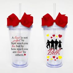 Wizard of Oz Quote Acrylic Tumbler Personalized by SweetSipsters, $12.00