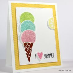 LOVE this card created by Vicky using brand New Simon Says Stamp from the Color Of Fun release. #ssscoloroffun