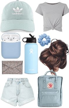 wish for Outfit Cute Lazy Outfits, Girls Summer Outfits, Teen Fashion Outfits, Trendy Outfits, Teen Trends, Types Of Girls, Sporty Girls, Just Girl Things, Teenager Outfits