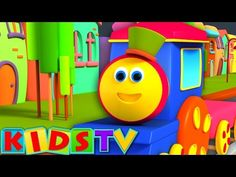 abc song | nursery rhymes | kids songs | bob the train kids show | nursery songs - YouTube