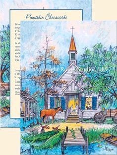 Louisiana Christmas Cards - Cajun Christmas Cards