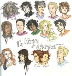 the heroes of olympus - Google Search